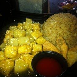 Pineapple and Sesame Tofu