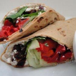 Easy Greek Wraps