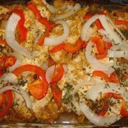 4 Step Zesty Garlic Chicken & Veggies