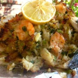 Stuffed Flounder La Fourche