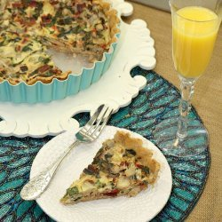 Low-Fat Turkey Sausage Quiche