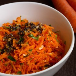 Indian Style Carrot Salad