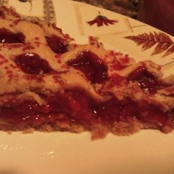 Cherry Pie With Lemon and Almonds