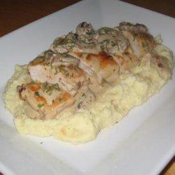 Creamy Mushroom Chicken recipe