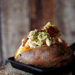 Apple-Stuffed Sweet Potatoes