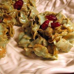 Sharon's Holiday Holly Leaf Treats