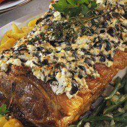 Rack of Lamb With Olive Crust