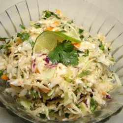 Mexican Coleslaw With Spicy Lime Vinaigrette
