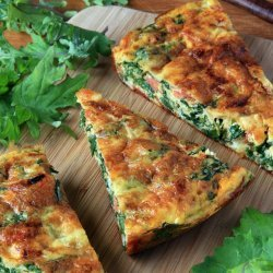 Healthy Kale Breakfast Frittata