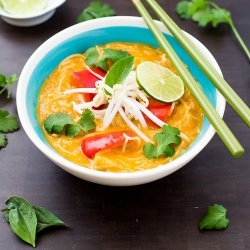 Crock Pot Thai Coconut Chicken Soup