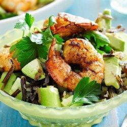 Lemon Wild Rice Salad