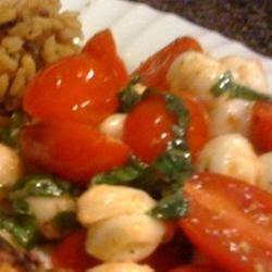 Baked Tomatoes and Mozzarella
