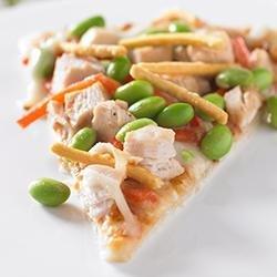 Edamame Asian-Style Pizza