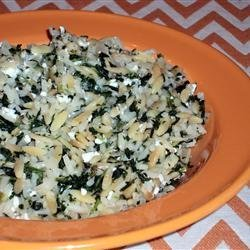 Sarah's Feta Rice Pilaf recipe