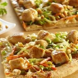 Saute Express(R) Saute Starter Thai Chicken Pizza