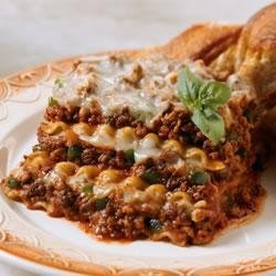 Hearty Meat Lasagna recipe