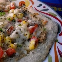 Hearty Crab Pizza