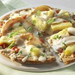 Monterey Jack Pita Pizza recipe