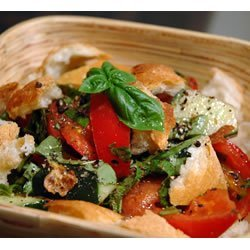 Mid-Summer Italian Bread Salad recipe