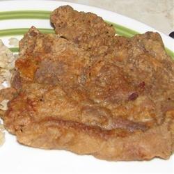 Deep Fried Pork Steak