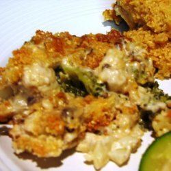 Terri's Broccoli and Cauliflower Au Gratin