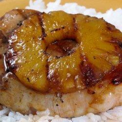 Pineapple Pork Chops (Grilled)