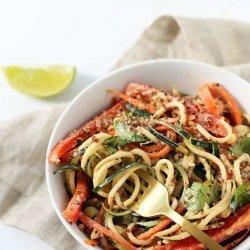 Thai Noodle Salad (Vegan)