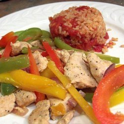 Chicken Fajita Stir-Fry With Peppers