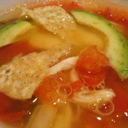 El Torito Chicken-Lime Soup