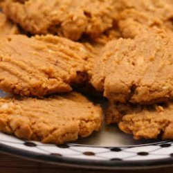 Flourless and Sugar-Free Peanut Butter Cookies