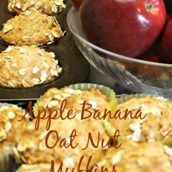 Apple and Banana Nut Muffins