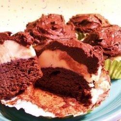 Frozen Brownie Cupcakes
