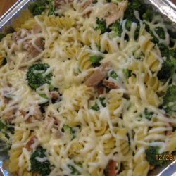 Creamy Chicken & Pasta Bake