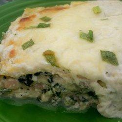 Creamy Seafood Lasagna recipe