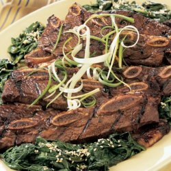 Korean Style Grilled Short Ribs