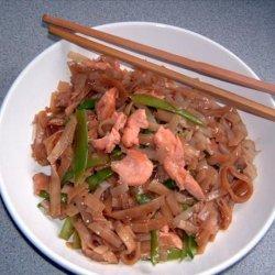 Salmon Noodle Salad recipe