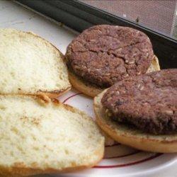Chris' Black Bean and Rice Burgers