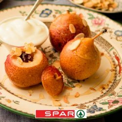 Steamed Pears and Honey