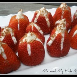 Strawberries With Cream Cheese Filling