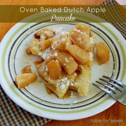 Apple Pancake Bake