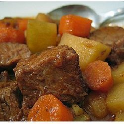 Easy Crock Pot Beef Stew recipe
