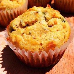Chive-Corn Muffins