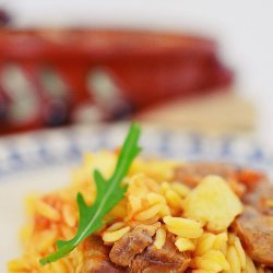 Greek Pasta and Beef