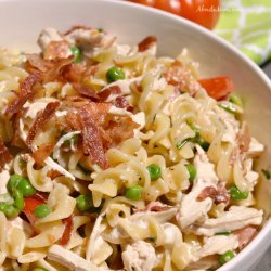 Ranch Chicken Pasta Salad