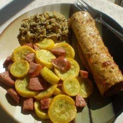 Sausage and Summer Squash