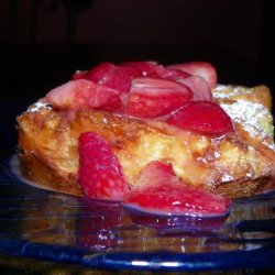 Stuffed French Toast With Strawberry Grand Marnier