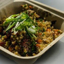 Sausage Vegetable Pilaf