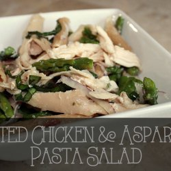 Pasta Salad With Asparagus and Chicken
