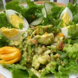 Floridanatives Salsa Avocado and Egg Salad