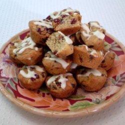 Glazed Cranberry Mini Cakes recipe